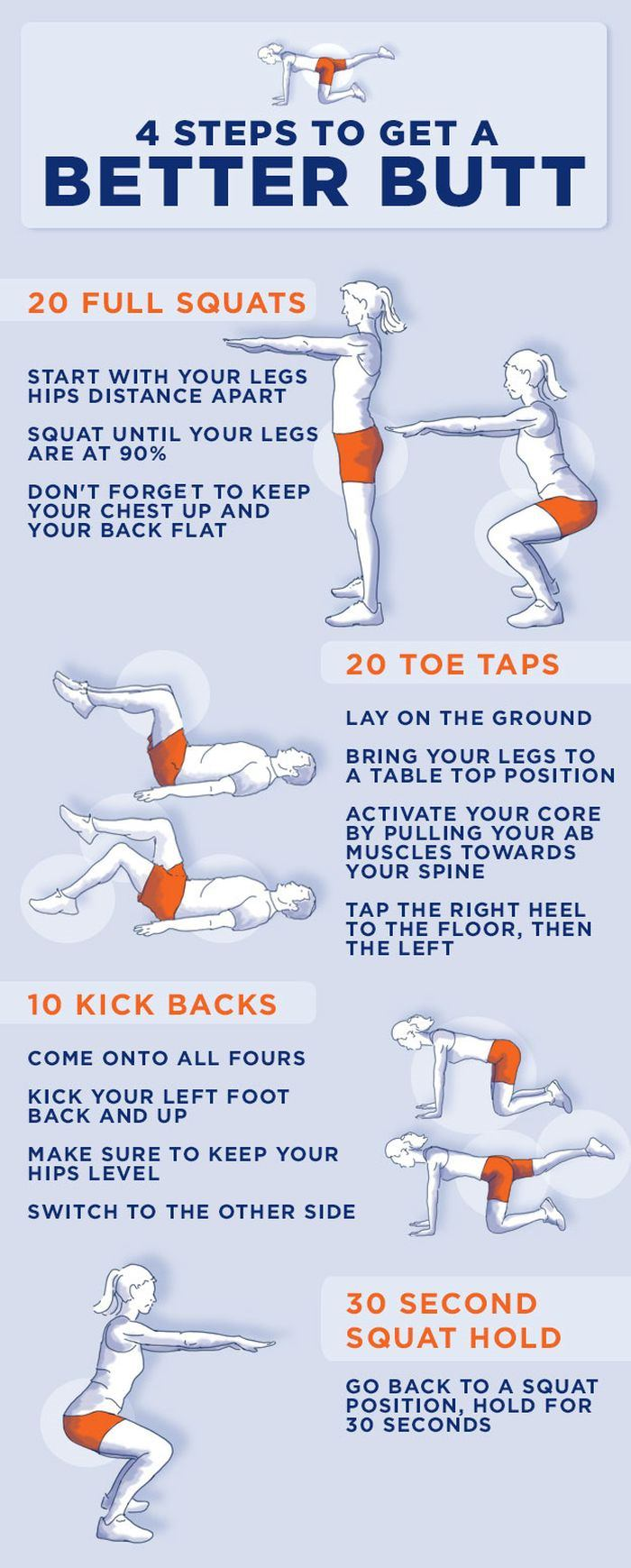 exercises for better butt