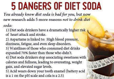 why you shouldn't drink diet soda