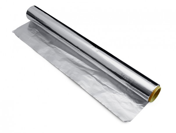 how to clean silver at home with aluminum foil