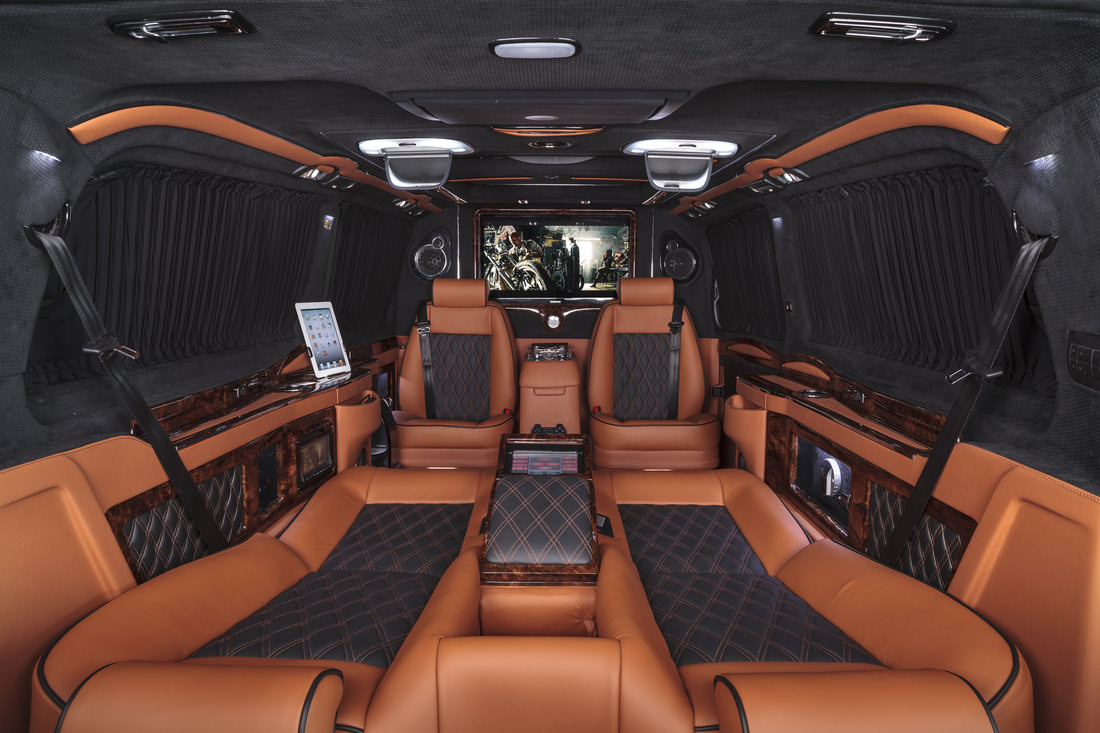 amazing luxury van is better than a limo wheels air water babamail. Black Bedroom Furniture Sets. Home Design Ideas