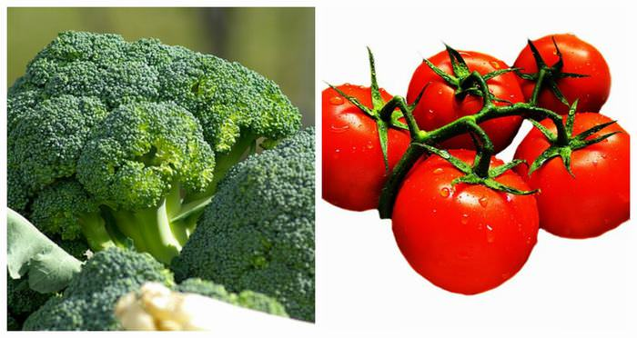 Broccoli tomatoes