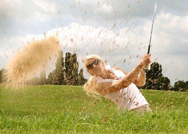 woman golfer golf