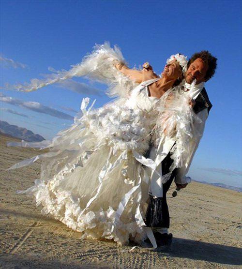 ugly wedding dress