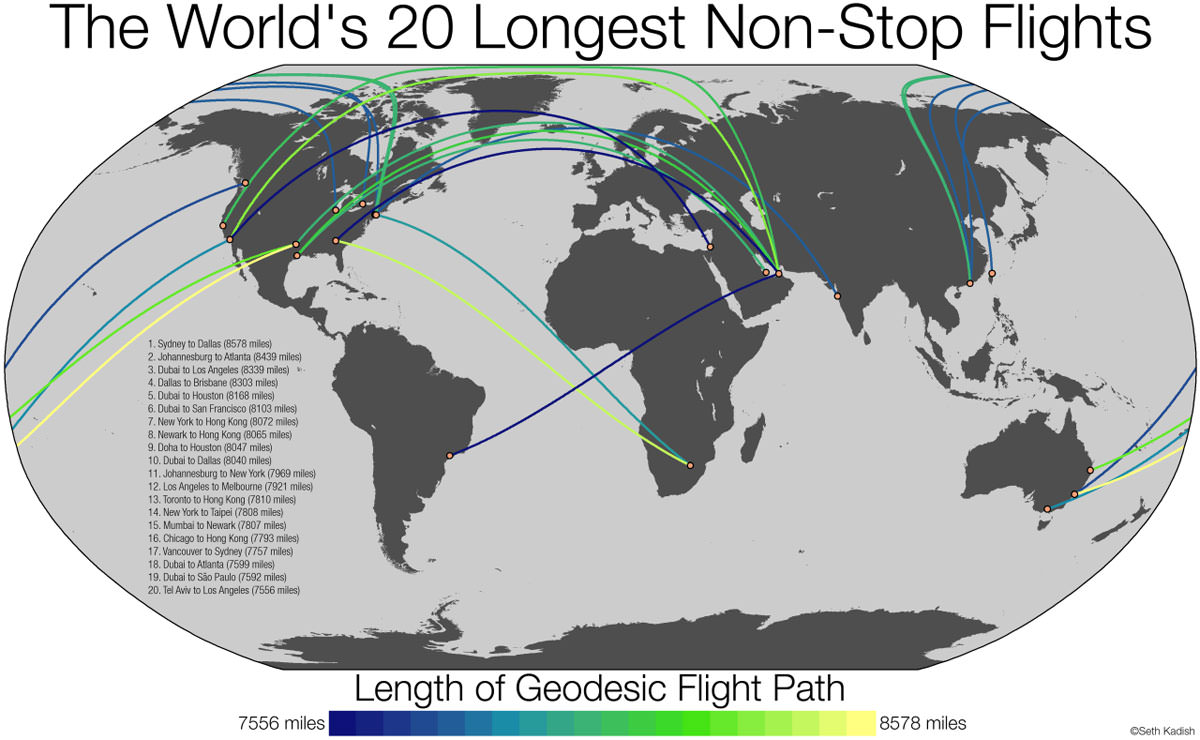 Map resources worlds 20 longest non stop flights gumiabroncs Gallery