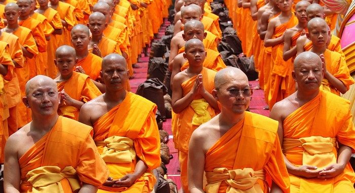 bald monks