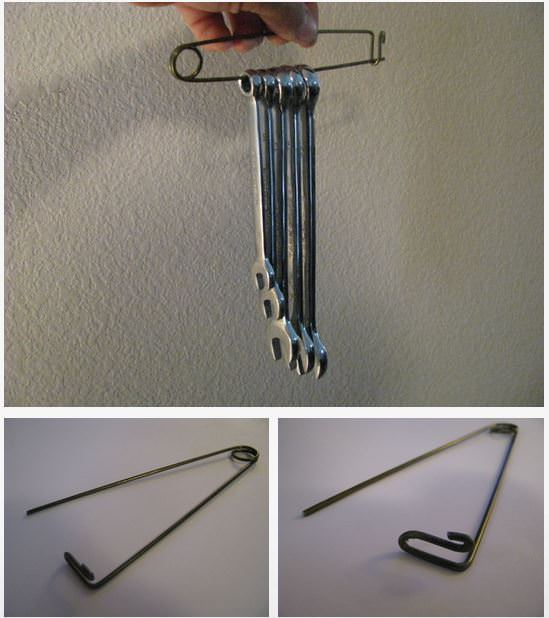 Coat Hanger Tool Holder