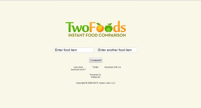 Two Foods Homepage