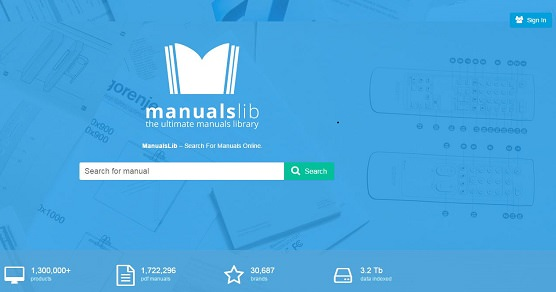 Manuals Library Homepage