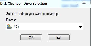 Disk Clean Up 1