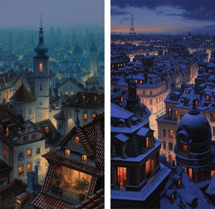 Evgeny Lushpin Art