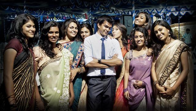 sari de la india