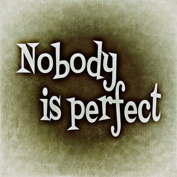 Nobody is Perfect, spirituality, future, happy, strength, positive, sadness, daily, self affirmations