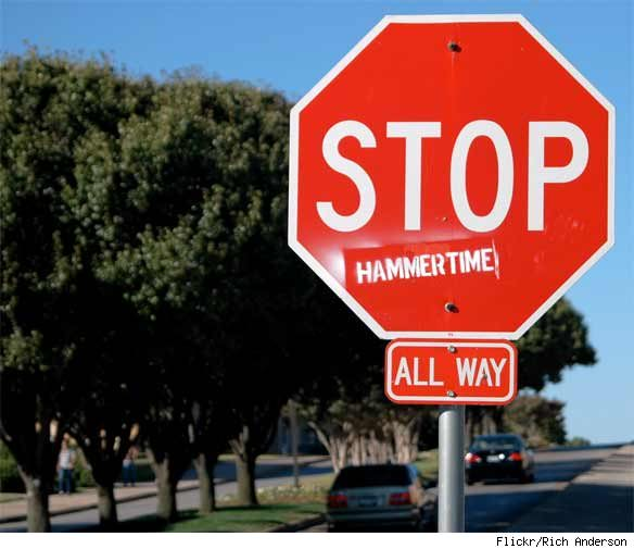 Stop Sign Graffiti