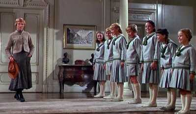photo of the children from the sound of music