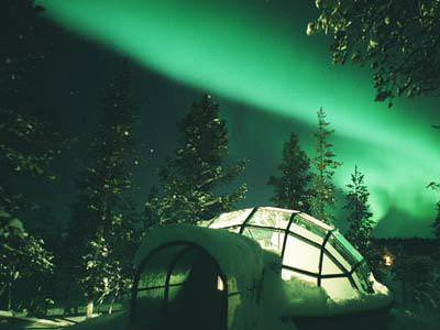 hotel igloo in finland