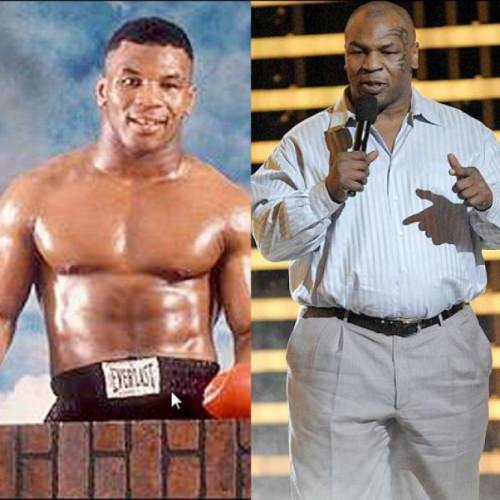 before and after Mike Tyson