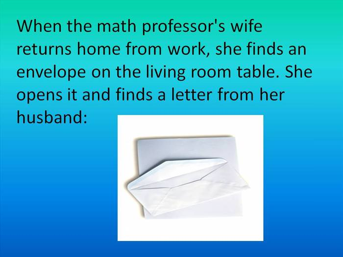 painful math joke