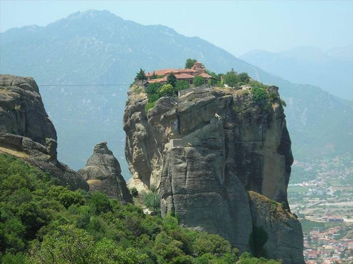 Inaccessible Monasteries