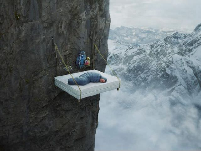hanging beds mountain climbing