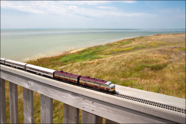 train nature photos