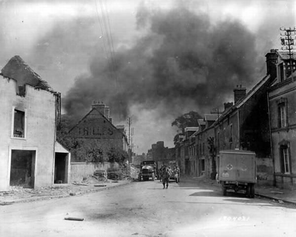 Normandy historic photo