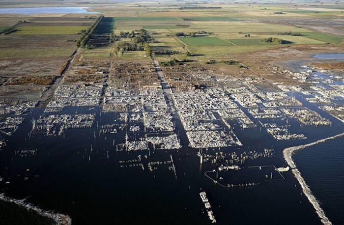 sunken town