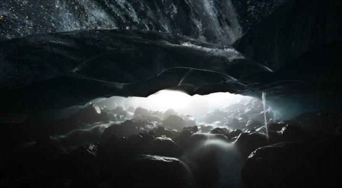 glacier caves