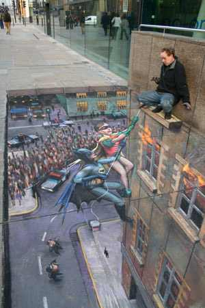 Pavement in 3D - Amazing Street Art!