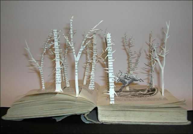 book statues