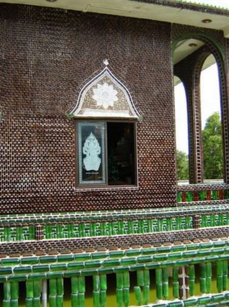 beer bottle temple
