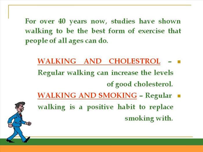 health walking