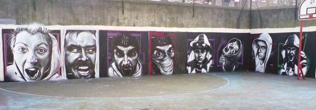 trans art graffiti