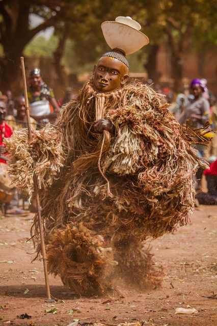 burkina faso mask festival