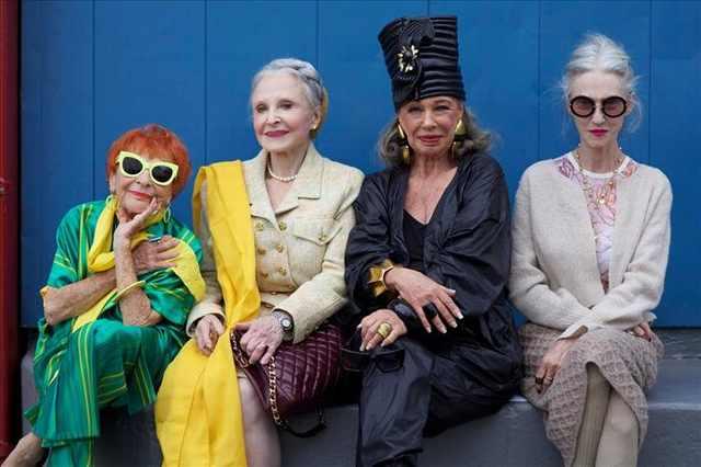 stylish grandma