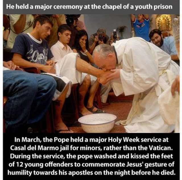 pope francis good facts
