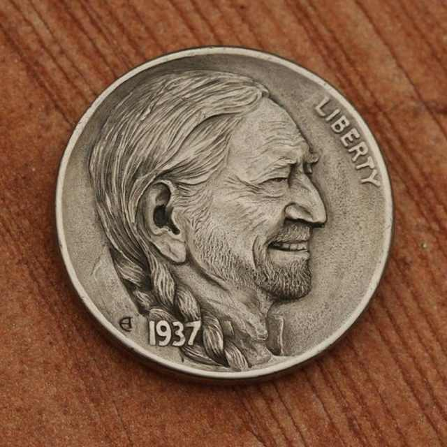 beautiful coin art