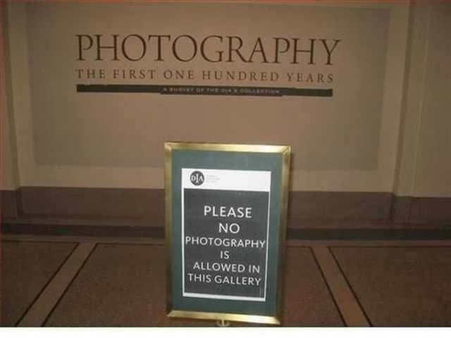 ironic photos