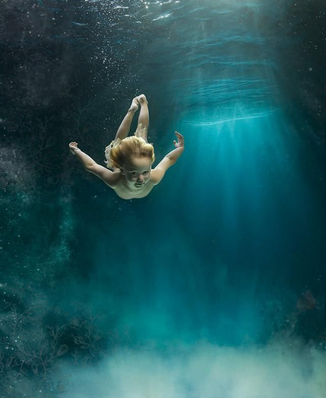 underwater fantasy photography
