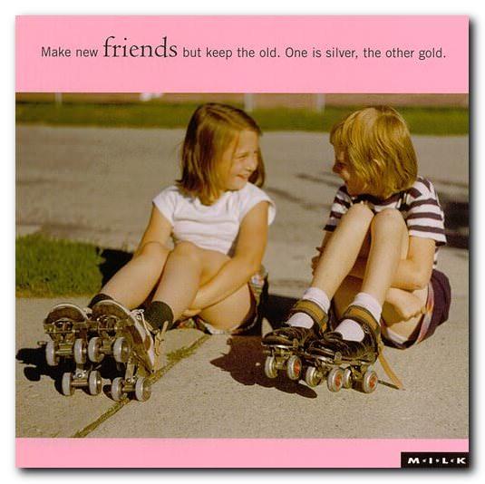 friendship postcards
