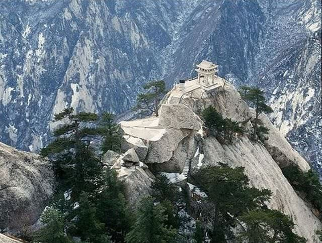 Mt. Huashan dangerous trail