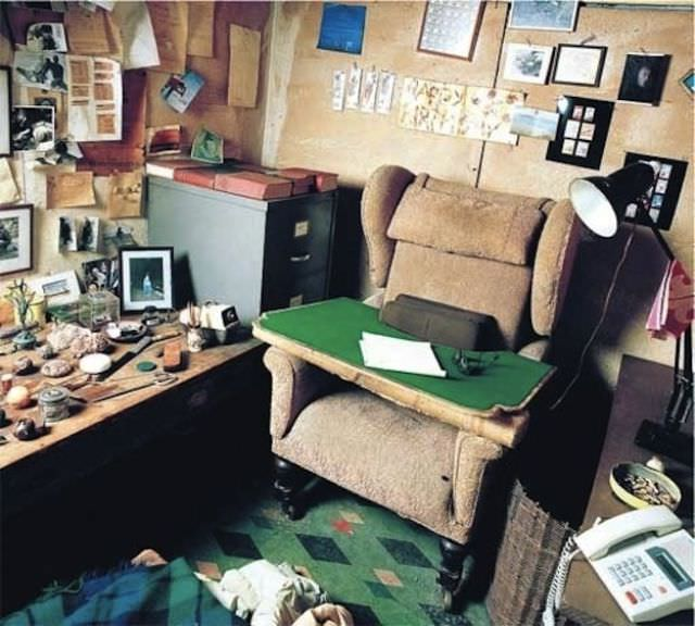 rooms of creative people