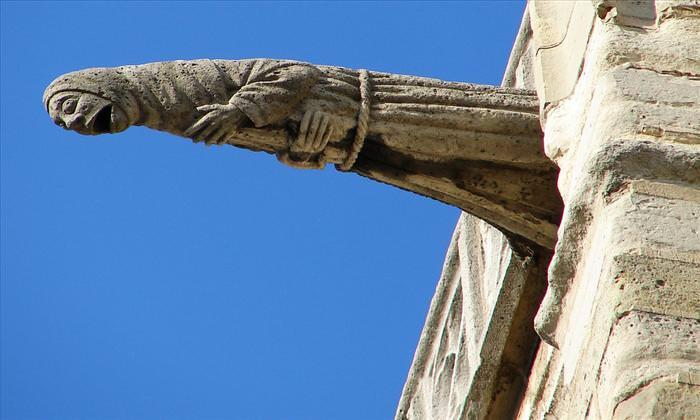 gargoyles and building sculptures