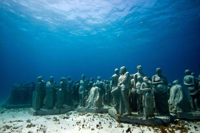 Incredible Underwater Sculptures