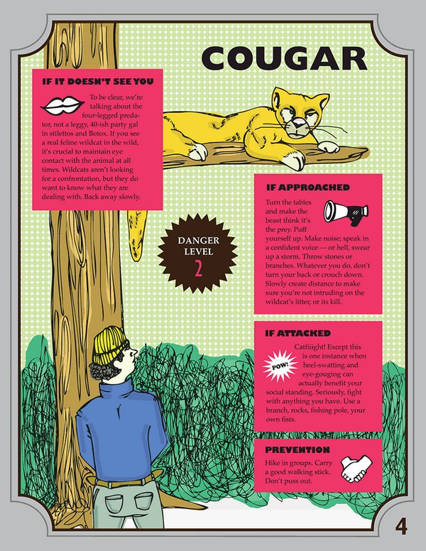 wild animal guide for survival