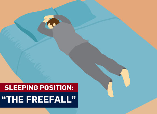 male sleeping positions