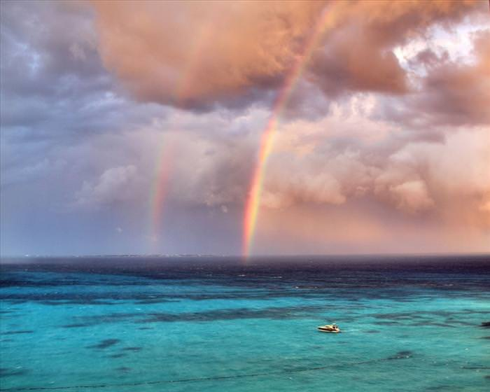 What Can Be More Perfect Than Double Rainbows Nature BabaMail - 17 breathtaking photos of rare double rainbows