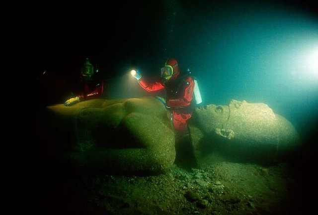 ancient submerged egyptian city