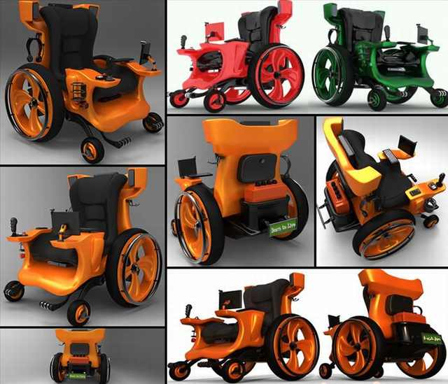 wheelchair designs