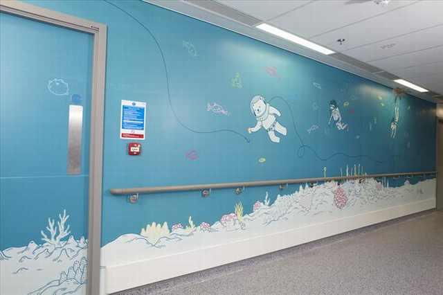 interior of kids hospitals