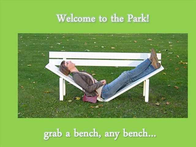 weird benches